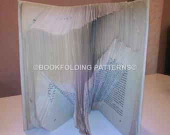 Horse book folding pattern