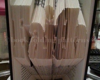 faith word  book folding pattern