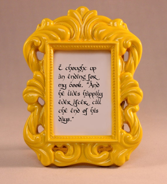 Custom Framed Quote Bilbo Baggins Quote Lord Of The Rings LOTR