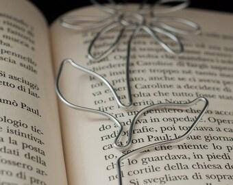 Bookmark daisy, bookmark lightweight, aluminum bookmark, spring bookmark, reader gifts, flower lover, bookmark summer, cute bookmark