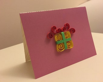 Quilled present