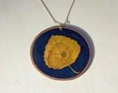 Aspen Leaf Design Necklac...