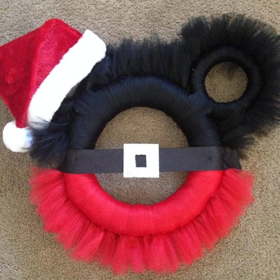 mickey mouse christmas wreaths - Mickey Mouse Christmas Wreath