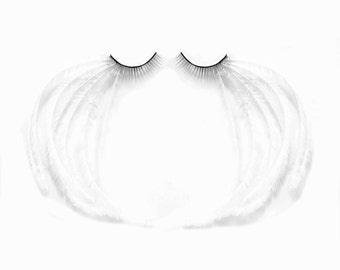 Angel of Innocence - Angelic feather lashes