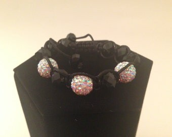Glam Crystal Friendship Bracelet - Domino
