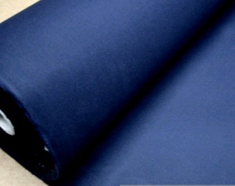 fabric pure cotton canvas blue marine width water - repellend