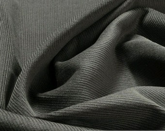 fabric pure cotton corduroy grey 1 mm mouse grey