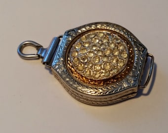 Steampunk Art Deco Ladies watch Pendent