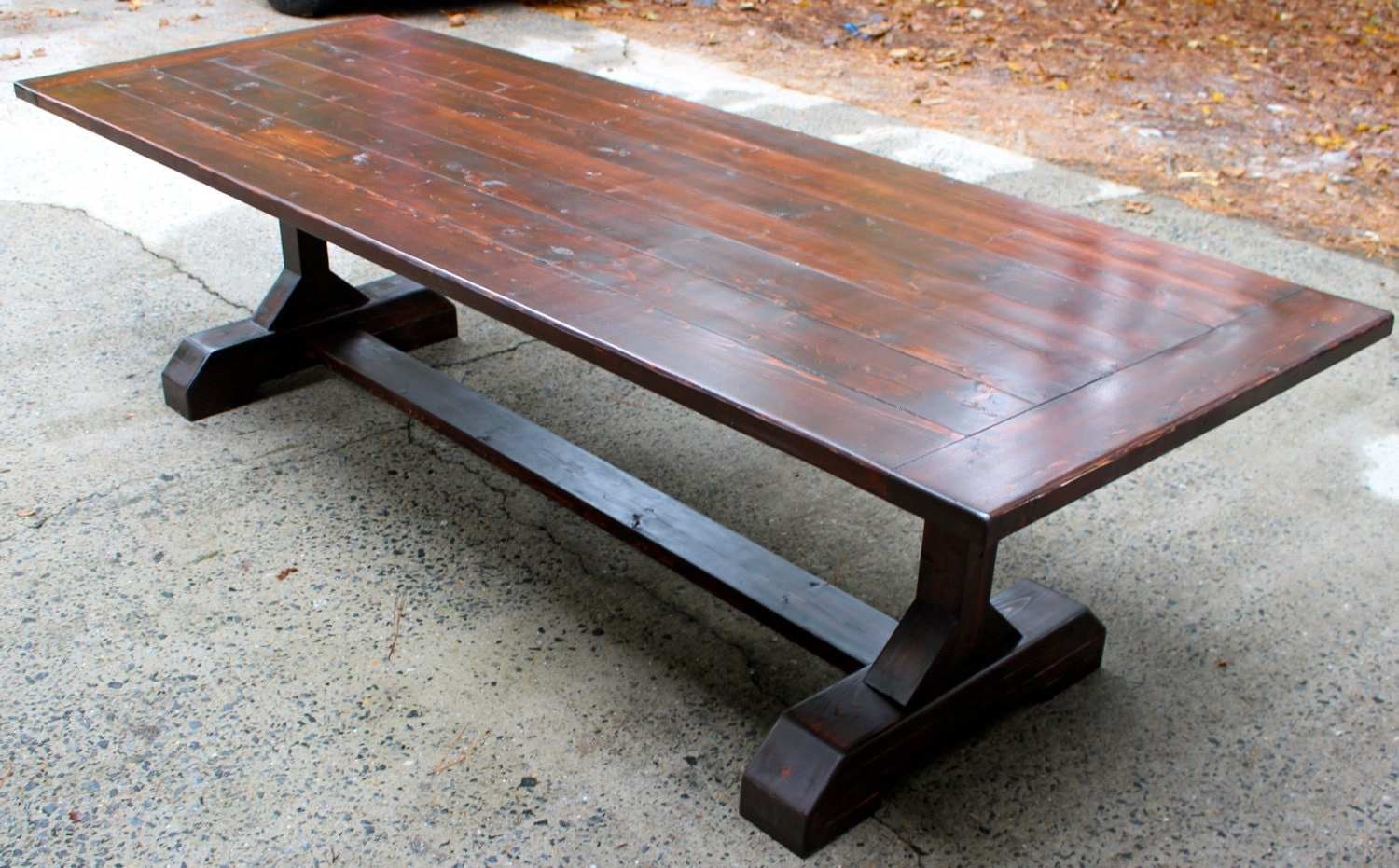 Custom 10ft 120 inches Rustic Farmhouse Table Farm Table