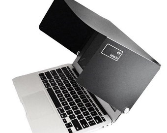 "Macbook air 11"" sunshade. The iShade is a sunshade for your screen. Fits the Apple MacBook Air 11"" and keeps the glare off when it's sunny"