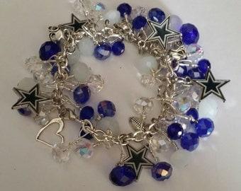 Dallas Cowboy Charm Bracelet