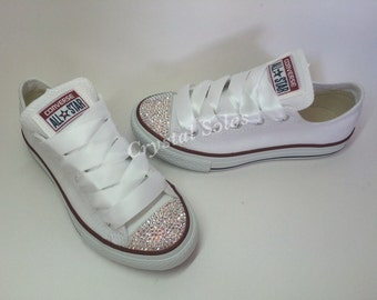 Swarovski Customised classic Converse