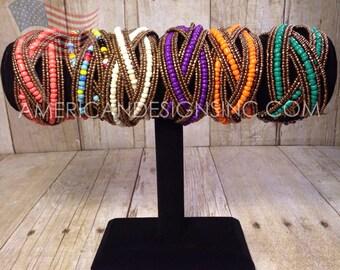 Beaded Cuff Bracelet ***ON SALE***