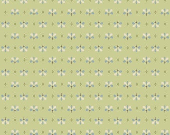 1 yards To Norway with Love By Sue Daley Designs for Riley Blake Designs C38883-Green