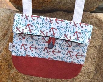 Nautical Anchor Crossbody Bag, Handbag