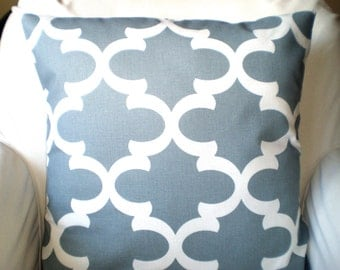 Grey Decorative Throw Pillow Covers, Cushions, Cool Gray White Fynn, Couch Pillows Throw Pillow, Pillows for Couch, One or More All Sizes