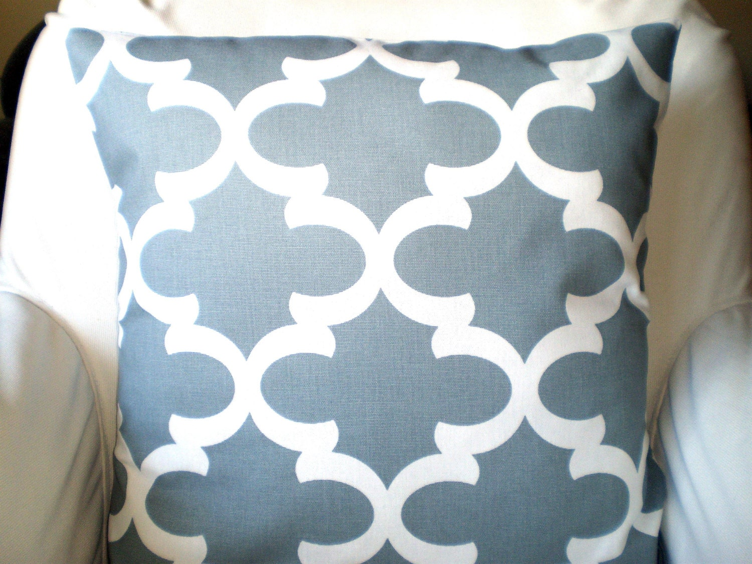 Grey Decorative Throw Pillow Covers by PillowCushionCovers on Etsy