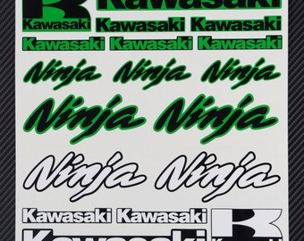 Kawasaki Motorcycles Stickers Custom Vinyl Decals - Kawasaki motorcycles stickers