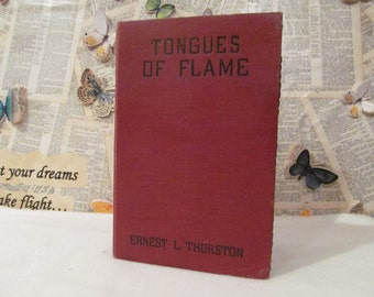 Handmade Tongues of Flame Book Tablet Cover/Case