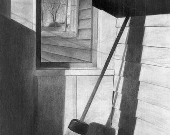 Side Porch, Giclee print