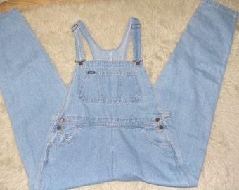 Vintage Wrangler Denim jeans Coveralls Overalls Cotton herringbone  made in USA