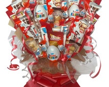 Large Kinder Chocolate Bouquet by Kandy Station - Perfect Gift Hamper