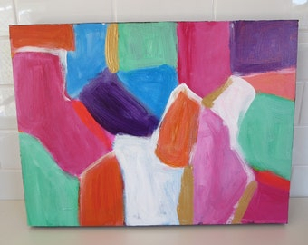 Bright Abstract Original Painting