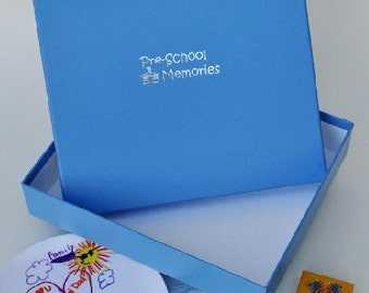 Where to put all the  priceless artwork & papers from Pre-School? How about storing them in our Pre-School box. Shop www.lifesmoments.biz