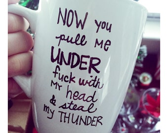 Neck Deep lyrics mug!