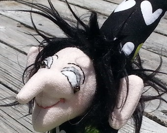 "Cloth Art Doll ""Jester"""
