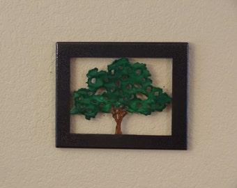Oak Tree of Metal