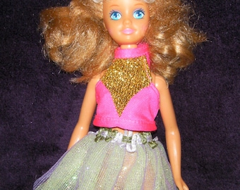 Vintage Retro Doll, made by Mattel 1987.
