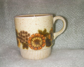 Vintage Poole Pottery, 'Thistlewood' Cup, Collectable. Made in England