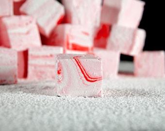 Peppermint Mousse Swirl Artisan Marshmallows
