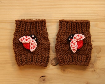 Knitted Arm Warmers Or Leg Warmers Baby Children Girl