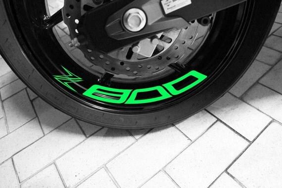 Rim Sticker Motorcycle Motorcycle Rim Sticker Stripe