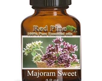 Marjoram Sweet Essential Oil - Origanum marjorana - 100% Pure Therapeutic Grade