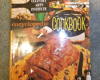 Culinary Arts Institute Encyclopedic Cookbook 1974