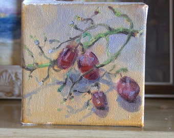 Grape (small oil painting)