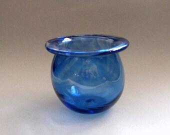 Blue Blown Couldren Bowl