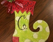 Some ways, Wooden christmas stocking together