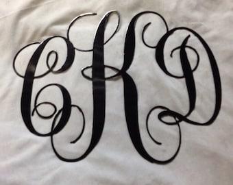 Three Monogram Letters