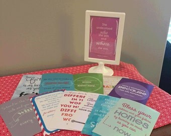 """LDS Young Women QuoteBundle! Twelve 4""""x6"""" quotes to inspire your LDS YW! Digital Download!"""