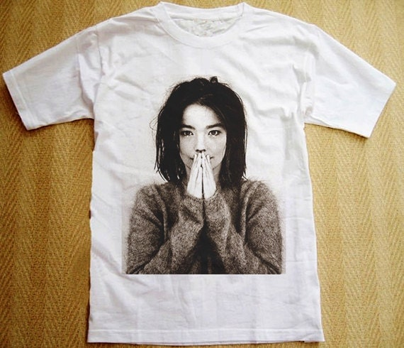 Björk Band T-shirt Bjork Music
