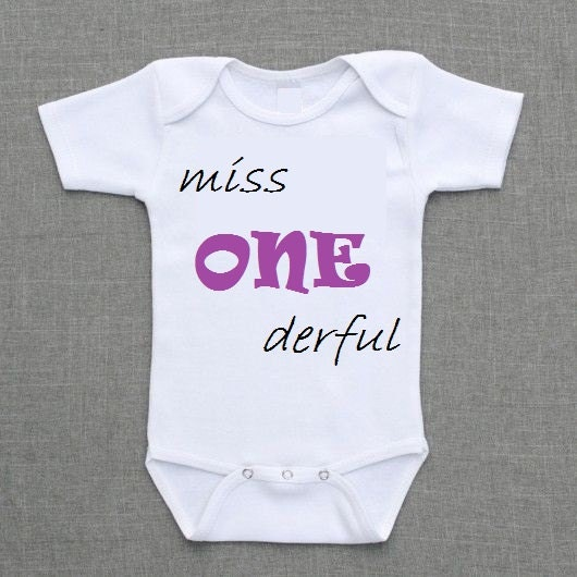 Mr miss one derful wonderful 1 year old t shirt birthday for Cool t shirts for 12 year olds
