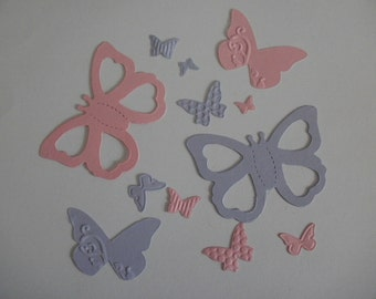 12 Die Cut  Card Stock  Butterflies for Scrapbooks or Card Making