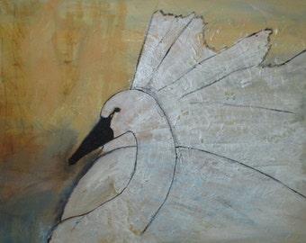 Swan Original Painting