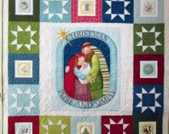 Christmas Pure and Simple Quilt Kit
