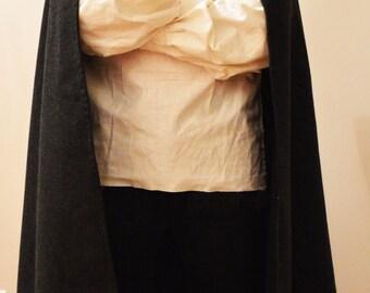 Half Circle Hooded Cloak- larp, fantasy
