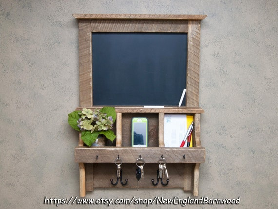 Message Board Message Center Chalkboard Organizer Wall Mail
